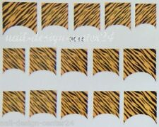 French NagelSticker Nagel Sticker Tiger ST- B015 Tattoo