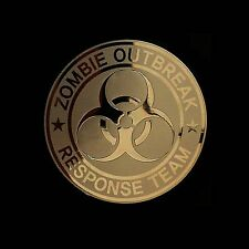 Zombie Outbreak Response Team Metal Decal Sticker Case Computer PC Laptop (G)