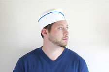 Retro Paper Soda Jerk Hats 5 Pack Blue