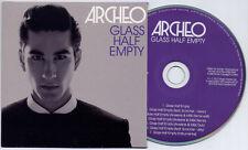 ARCHEO Glass Half Empty UK 7-trk promo CD Scorcher Arveene & MiSK