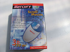 Mercury 750DPI PS2 3D ratón bola sin usar.