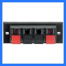 3 x 4 Way Speaker Terminal - Free Shipping