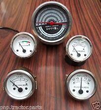 Allis Chalmers D19 Diesel /Gas Tachometer Temp Oil Pressure  Fuel  Amp Gauge Kit