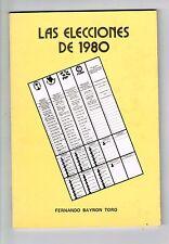 Fernando Bayron Toro Las Elecciones De 1980 Puerto Rico Librito 1982 1st Edition