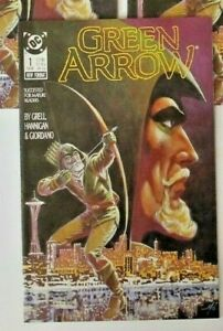 GREEN ARROW # 1   1ST ONGOING SERIES  MIKE GRELL  DC  1988 VF/NM