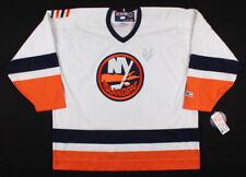 Rick Dipietro Autographed New York Islanders CCM Hockey Jersey Signed COA Sz XXL