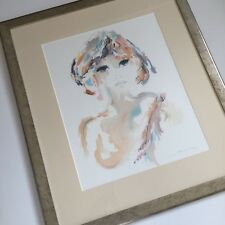 Shan Merry Signed Framed Lithograph French Artist