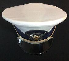 New listing U. S. Coast Guard Auxiliary Dress Hat W/ Eagle Badge, Bancroft Military Cap Co.