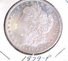 1879 P Morgan Silver Dollar 1$ US BU Uncirculated BU Guaranteed Private Seller