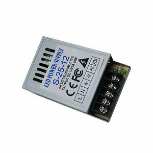 Transformateur Alimentation adaptateur 25W Led 12V Power supply Qualité