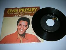 ELVIS PRESLEY - ANY WAY YOU WANT ME / LOVE ME TENDER