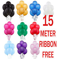 100 LARGE BALONS BALLONS HELIUM AIR BALLOONS Quality Birthday Weddings BALOONS