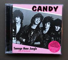 CANDY - Teenage Neon Jungle CD Like NEW 2003 25 Tracks Los Angeles Rock Band