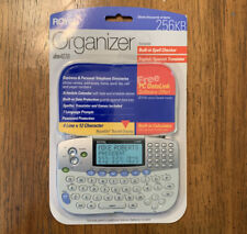Royal DM4070 Personal Organizer w/ Spell Checker Translator Calculator 256 KB A6