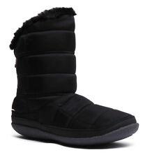 Toms Inez Womens Vegan Padded Ankle Boot Winter Slippers In Black Size UK 3 - 8