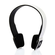 New WIRELESS BLUETOOTH HEADSET WHITE