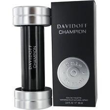 DAVIDOFF CHAMPION EAU DE TOILETTE HOMME 90ml VAPORISATEUR NEUF SOUS BLISTER