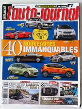 L'AUTO-JOURNAL du 03/2013; 40 Nouveautés immanquables Salon de Genève/ Zoé
