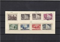 finland 1938-42 mounted mint+used stamps set ref 7288