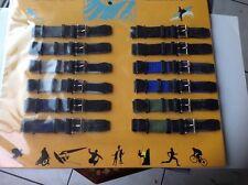Bracelet De Montre En Tissu  Largeur 18 , Lot De 12 ()