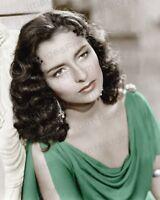 8x10 Print Marina Berti Beautiful Colorized Portrait Berti Quo Vadis 1951 #MB2