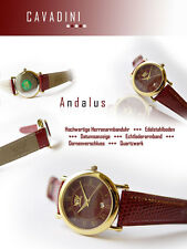 Beautiful Red Cavadini Unisex Watch Series Andalusian With box-pappiere