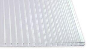 10mm Hohlkammerplatte / Stegdoppelplatte Polycarbonat
