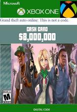 GTA 5 Online Shark card Grand Theft Auto V Xbox One( Read the ad)
