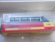 Schuco Piccolo Art.Nr, 761 Krupp Autotransporter car Transporter Blau - Grau OVP