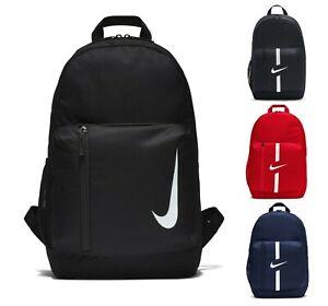 Nike Backpack Rucksack School Bag Black Gym Sports Unisex Travel Holiday PE