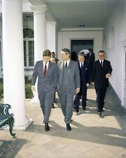President John F. Kennedy with John Connally and Lyndon Johnson New 8x10 Photo