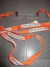 2 Vintage CHAMP CAR World Series INDY CAR Lanyards & Ticket Holders CHAMPCAR