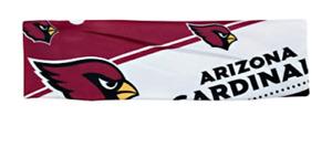 Arizona Cardinals Satin Stretch Headband Womens Ladies NFL Team Apparel