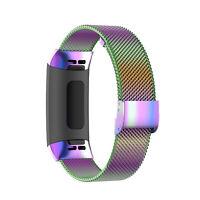 Edelstahl Milanese Uhrenarmband Strap Armband für Fitbit charge 4/4 SE / 3/ 3 SE