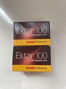 2 X Rolls Of Kodak Ektar 35mm Film