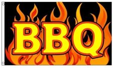 BBQ Barbecue FLAG 3x5ft with turn to BANNER kit