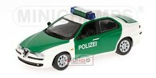 Alfa Romeo 156 Polizei 1997 Minichamps Neutral Box 1:43 433120790 Model