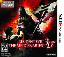 *NEW* Resident Evil The Mercenaries 3D - Nintendo 3DS