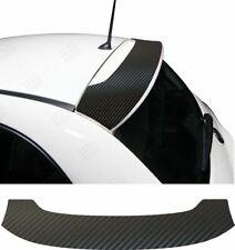 Fiat 500 2007 - 2015 Spoiler wing Decal Sticker Carbon Vinyl overlay