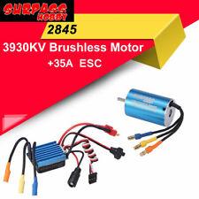SURPASS HOBBY 2845 3930KV Sensorless Brushless Motor+35A ESC Combo for RC Car