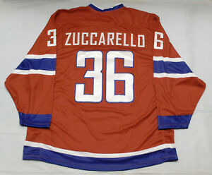 Team Norway PRO Hockey Jersey Mats Zuccarello Minnesota Wild DK XL