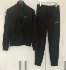 EA7 Men's Full Tracksuit Size S (top Pit To Pit 20.5 Inches)