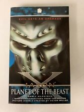 FRIDAY THE 13TH JASON X PLANET OF THE BEAST NOVEL BLACK FLAME  (2005) RARE OOP