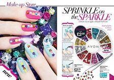 Avon Fashion Nail Gems & Applicator Sparkle Bling Bling Summer Nails BN & Sealed