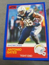 2019 SCORE FOOTBALL SHOWCASES CARDS #31 ANTONIO GATES SERIALLED 17 / 100🔥💥⭐🏈⭐
