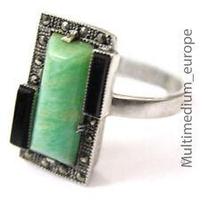 Silber Ring Amazonit Markasit Onyx Fahrner Qualität silver ring