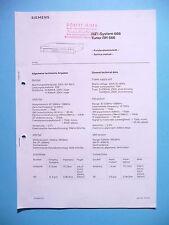 Service Manual-Anleitung für Siemens RH 666  ,ORIGINAL