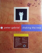 PETER GABRIEL ADVERT POSTER SHAKING THE TREE ORIGINAL NOT REPRINT VERY RARE