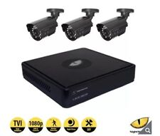 NightWatcher NW-4TV1-1TB-C1080D 4 Channel DVR with 3 x Dome Cameras