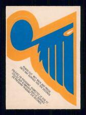1973-74  OPC  TEAM LOGOS  ST-LOUIS BLUES  SEE DESC. BELOW    INV  J9432